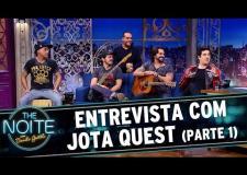 The Noite (07/07/16) - Entrevista com Jota Quest - Parte 1